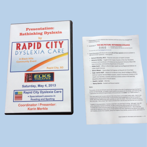 rapid-city-dyslexia-care-dvd